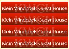 Klein Windhoek Guest Hhouse